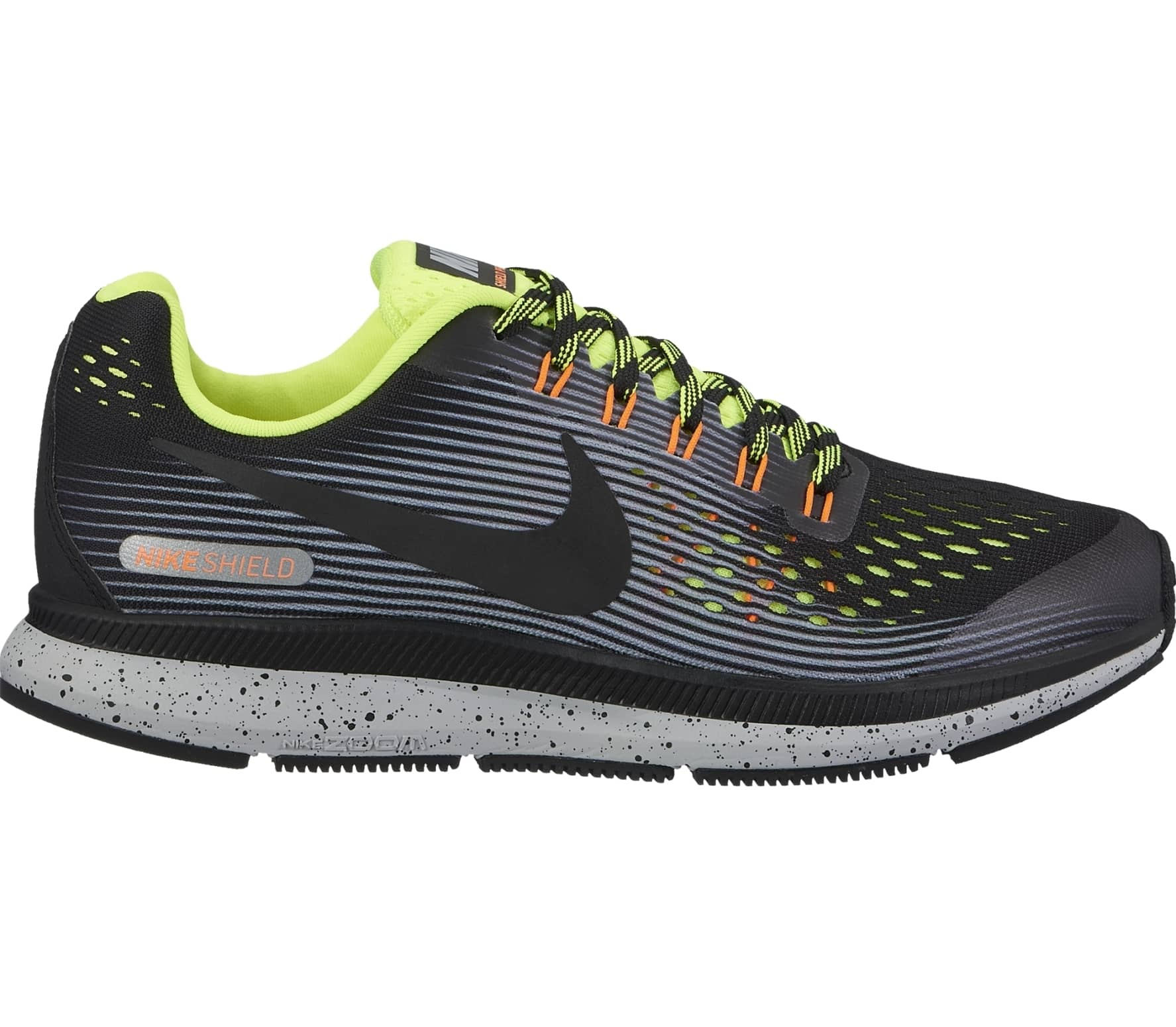 reputable site eeb75 8b0eb Nike - Air Zoom Pegasus 34 Shield (GS) Kinderen ren schoen (zwart