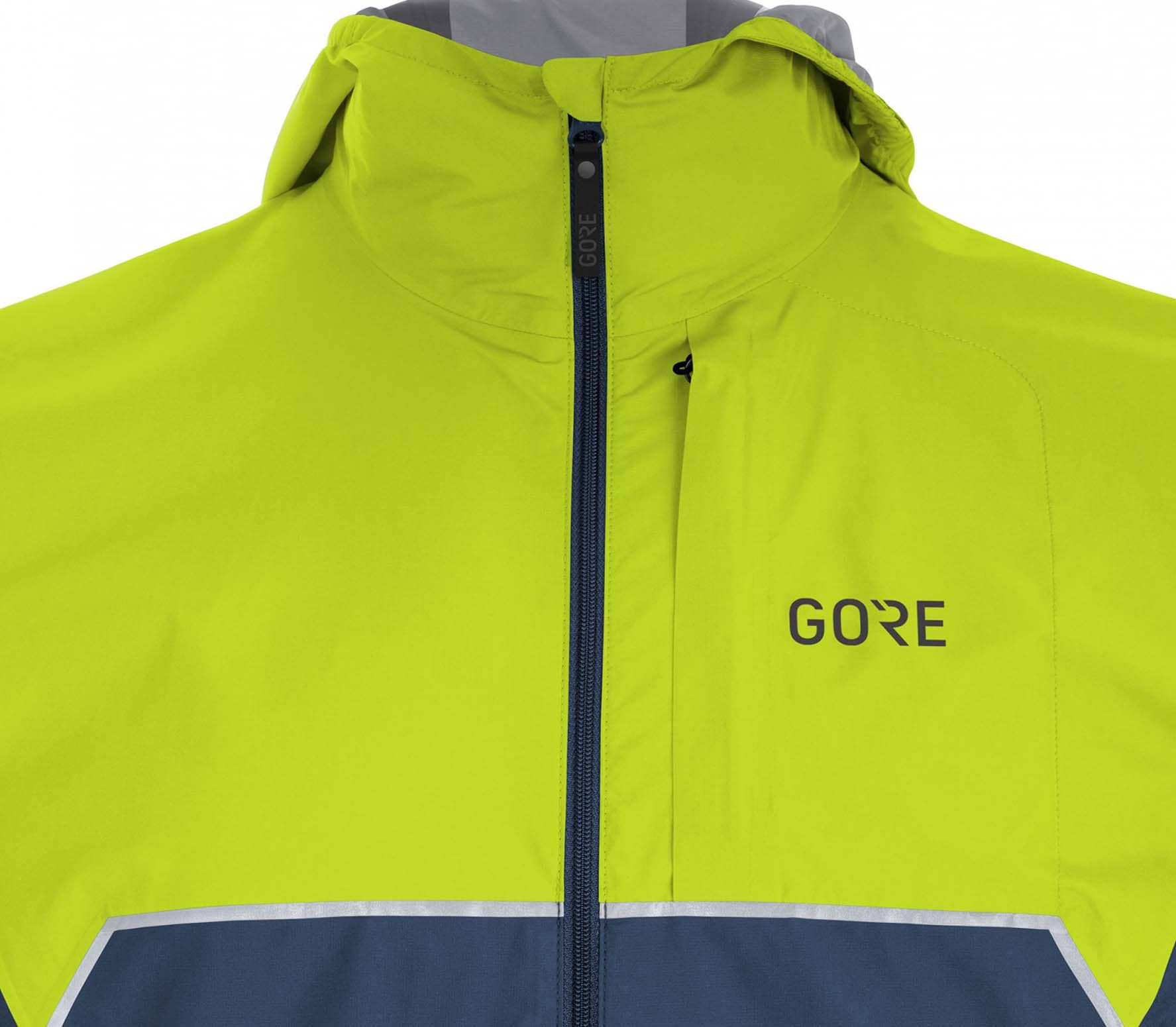 GORE® Wear - R7 Partial-Tex Infinium Hooded men s running jacket (blue  2af38c18a