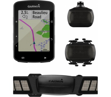 Garmin - Fahrradcomputer Edge 520 Bundle Bike Equipment (black)