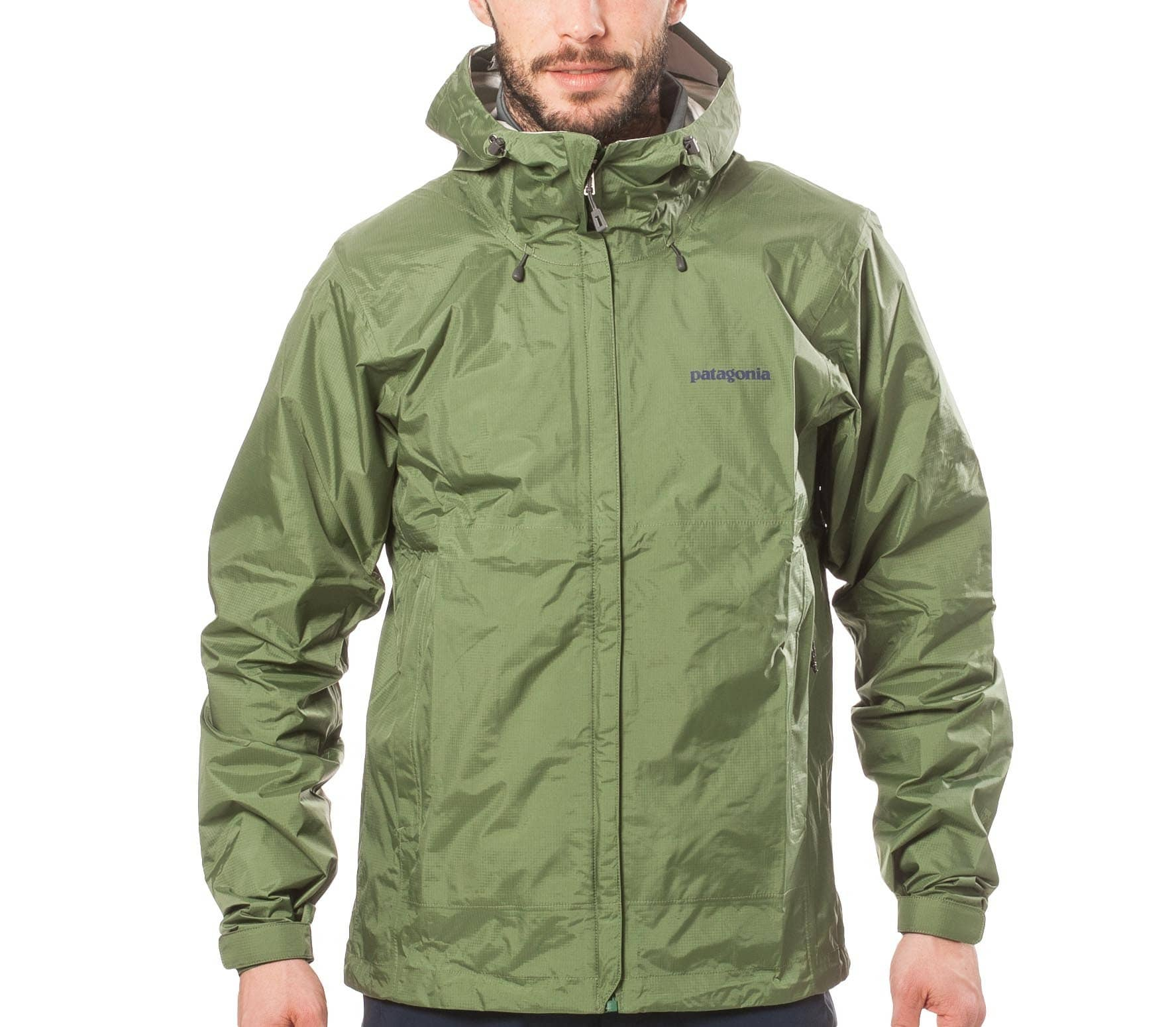 best service 2275e 9b9e4 Patagonia - Torrentshell men's hard shell jacket (green)