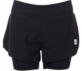 SAYSKY 2 In 1 Women Running Shorts