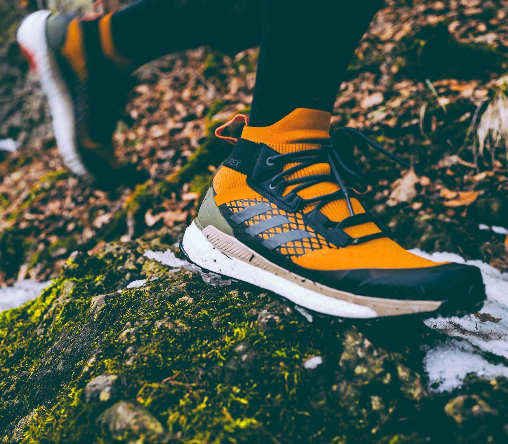 adidas Performance - Terrex Free Hiker Heren wandelschoen (grijs/bruin)