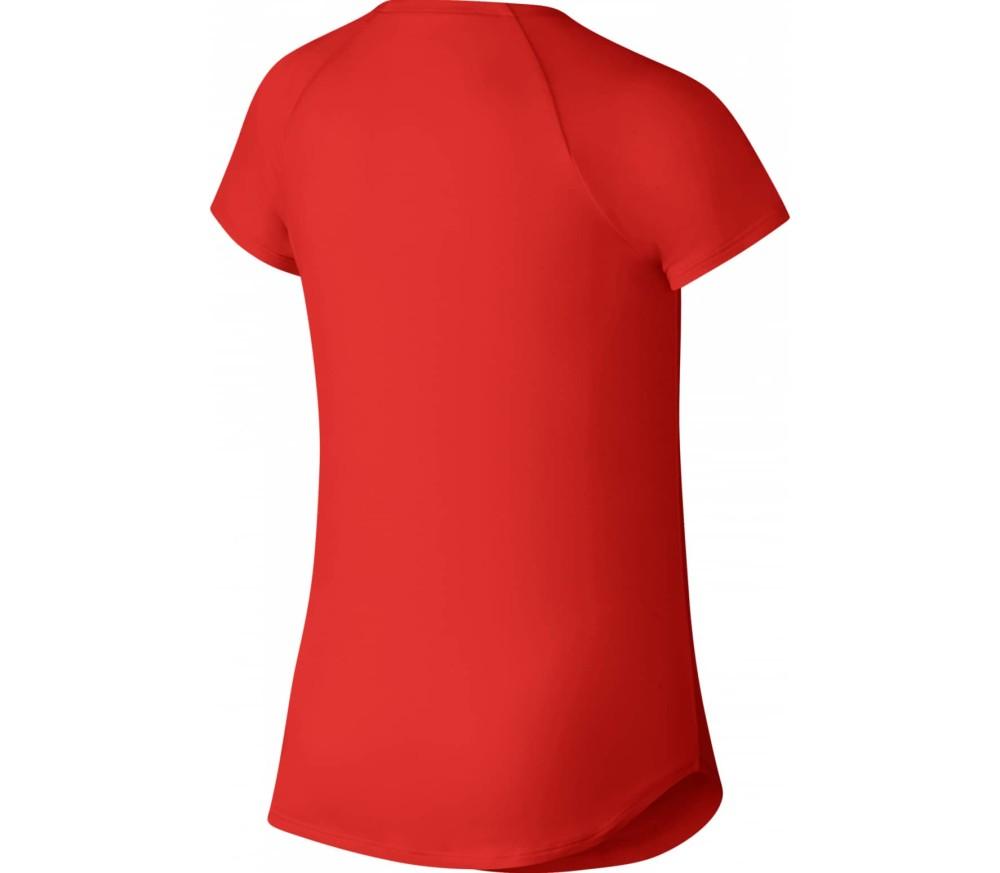 Nike Court Pure Junior Tennistop Enfants rouge