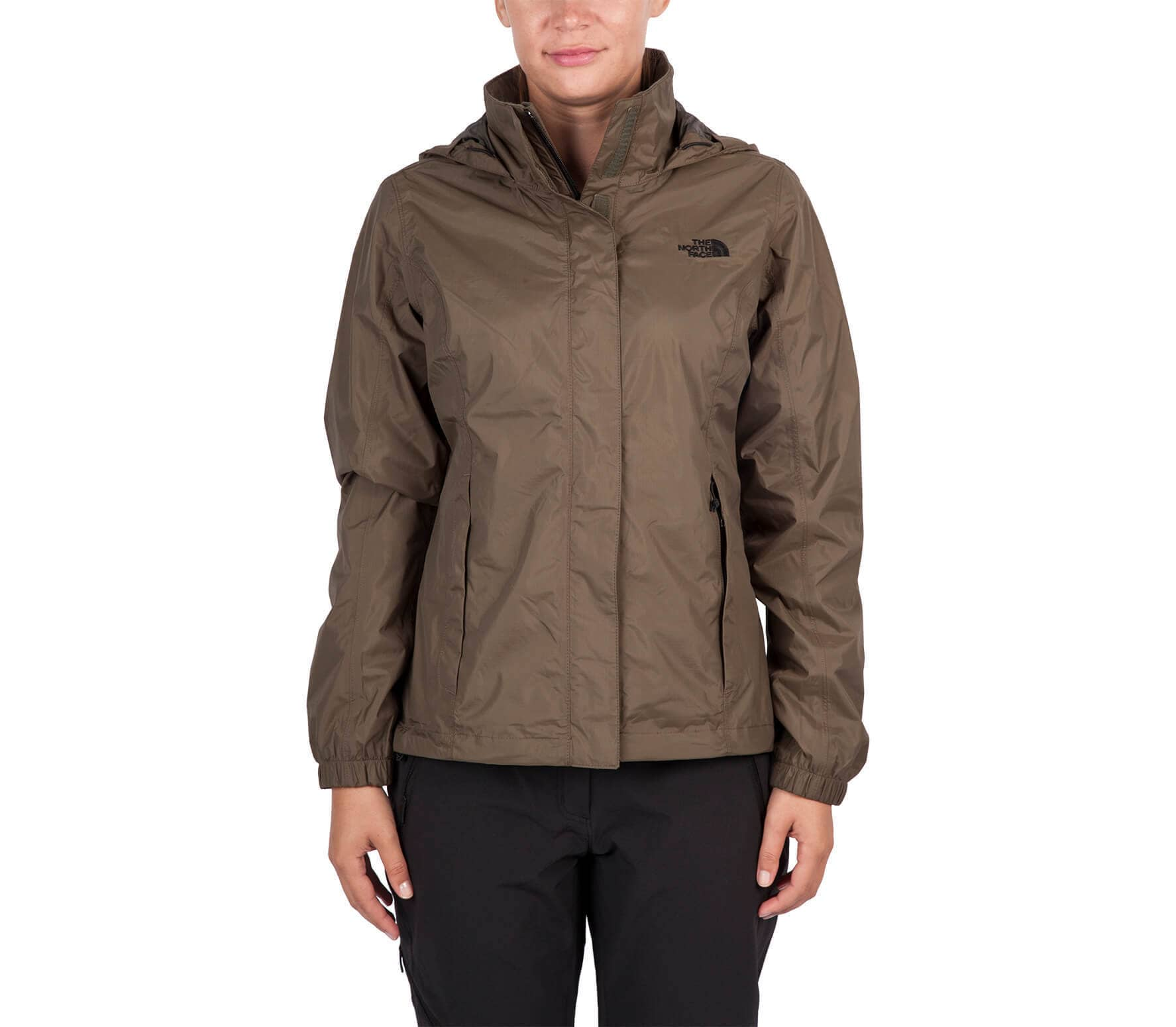 the north face resolve damen regenjacke dunkelgr n im online shop von keller sports kaufen. Black Bedroom Furniture Sets. Home Design Ideas