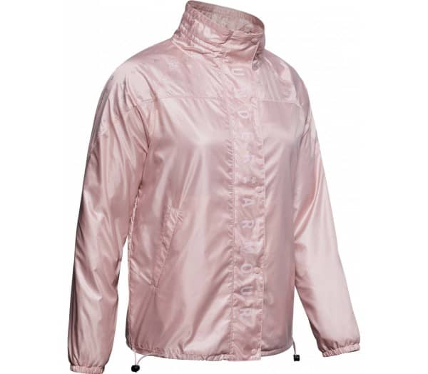 UNDER ARMOUR Athlete Recovery Woven Iridescent Women Training Jacket - 1