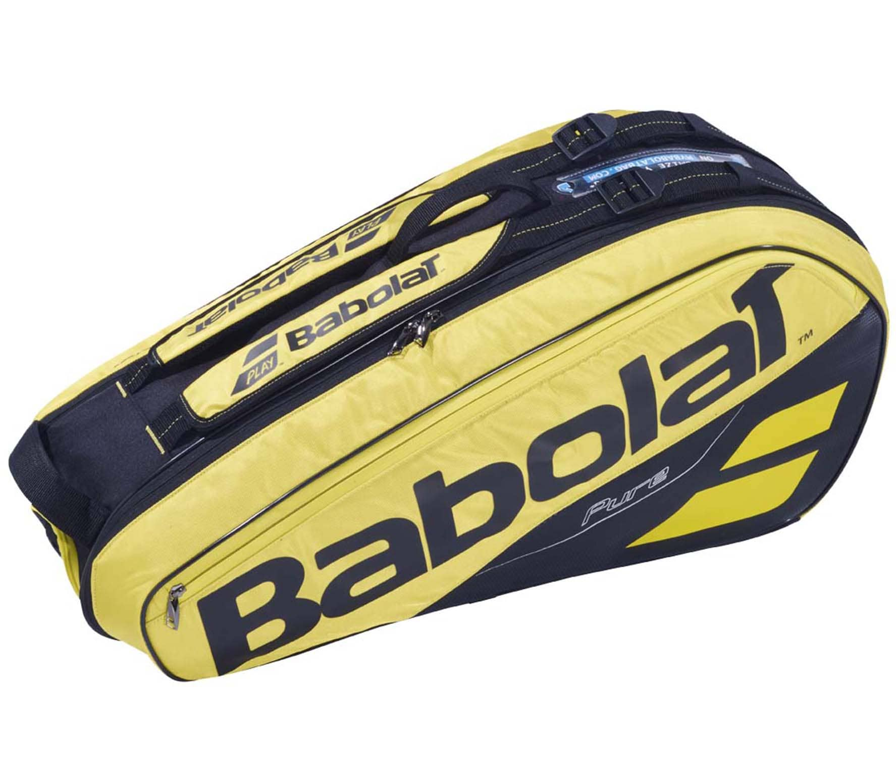 Babolat - RH X 6 Pure Aero tennis bag (yellow/black)