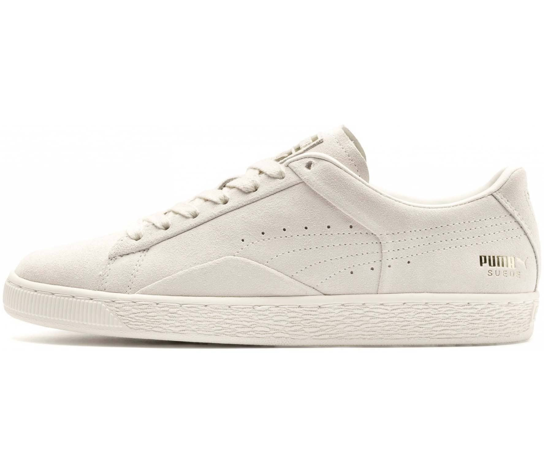 separation shoes 9d1fa 89594 Puma Suede Notch Unisex Sneakers white