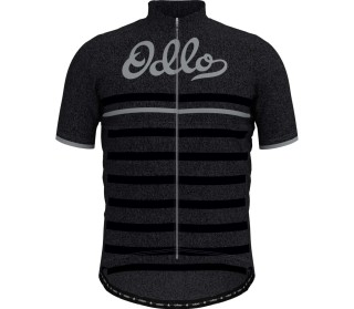ODLO Stand-up Collar s/s Full Zip Element Heren Fietstrui