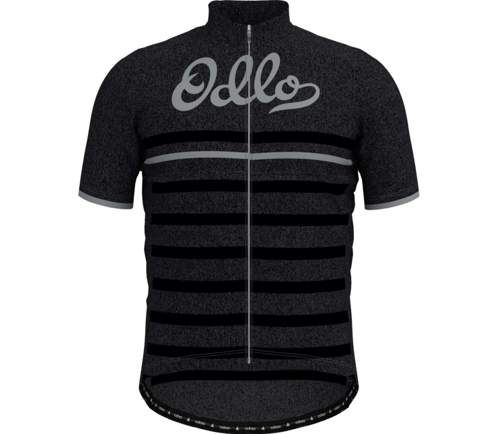 Odlo Stand-up Collar s/s Full Zip Element Men black