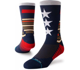 Tribute Crew Men Running Socks