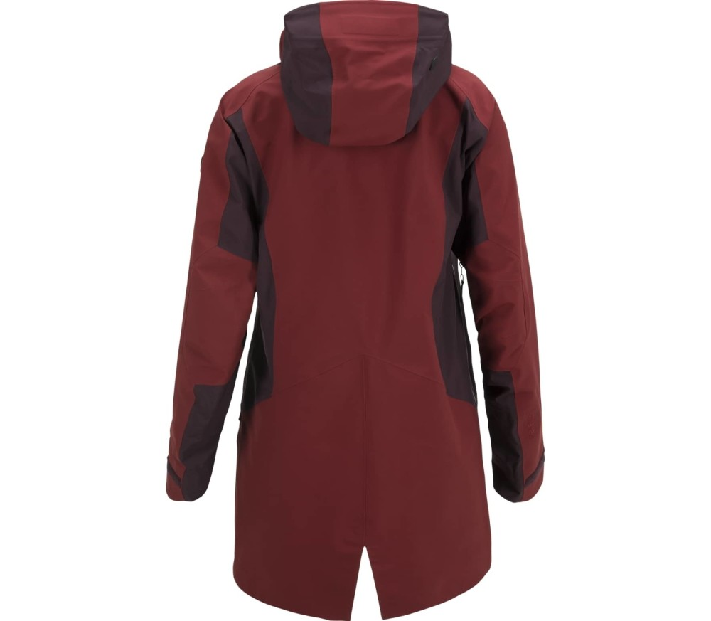 Peak Performance - Volcan Active Femmes Manteau de ski (pourpre)