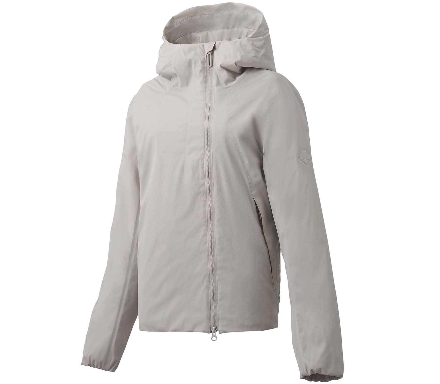 Descente ALLTERRAIN - Perforated Insulation Hooded Dam jacka (beige) - XL