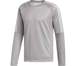 adidas Own The Run Crew 3-Streifen Herren Longsleeve