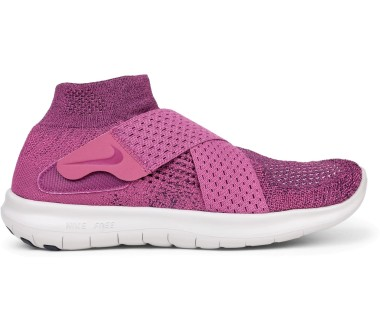 Nike Free RN Motion Flyknit 2017 Femmes Chaussures running  rose