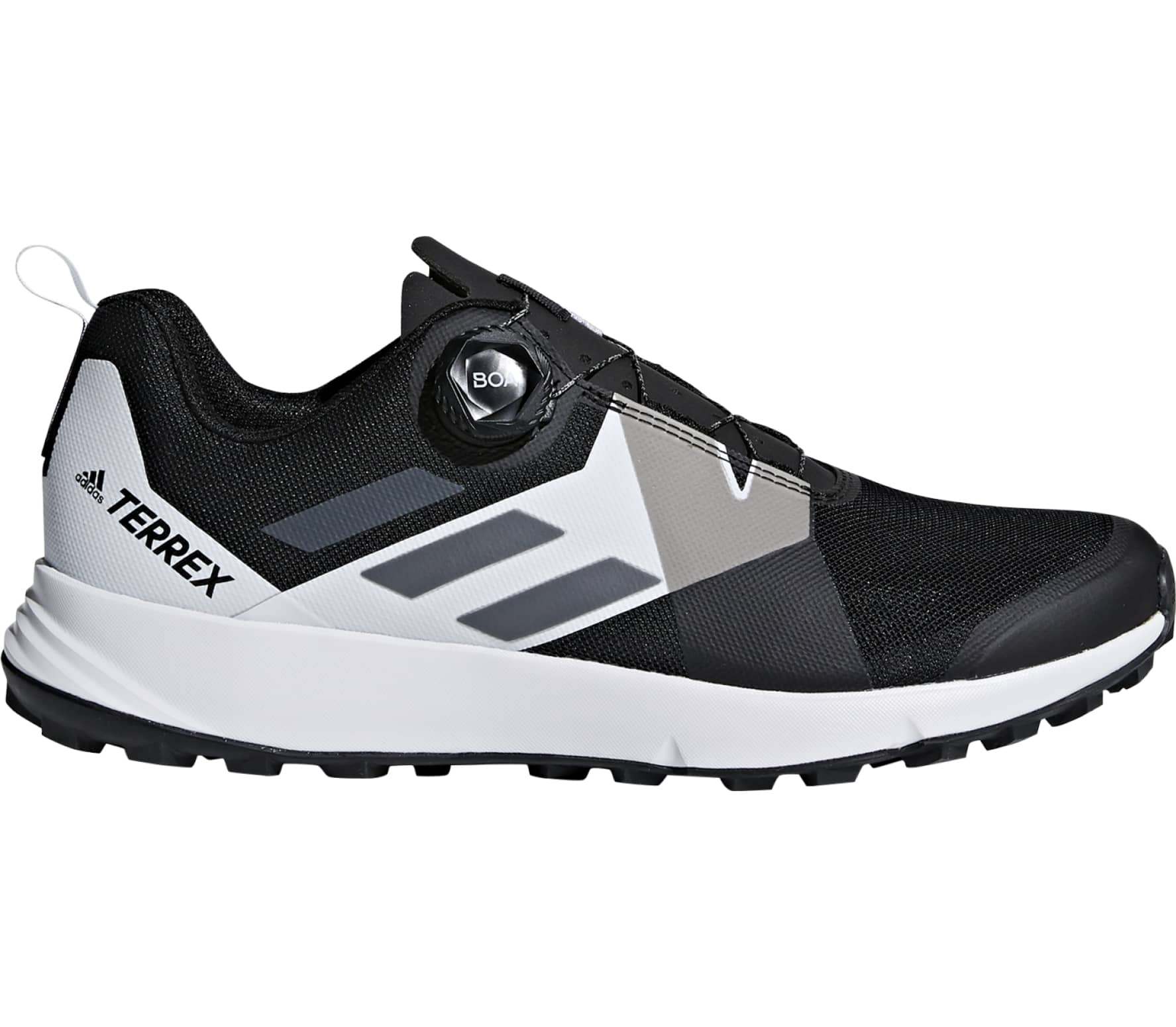 Adidas - Terrex Two Boa men s mountain running shoes (grey white ... dc8319327