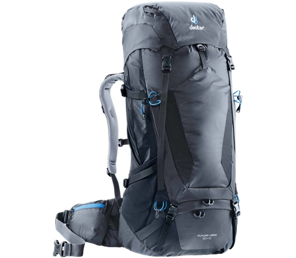 Deuter - Futura Vario 50 + 10 hiking backpack (black)