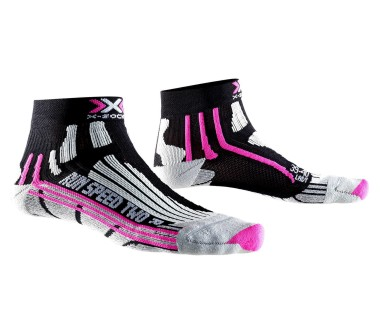 X-Bionic - Speed Two women's running socks (black/pink)