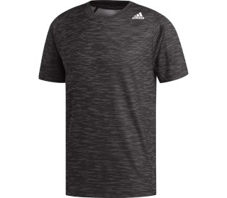 adidas Freelift Tech Fitted Striped Heather Men Training Top