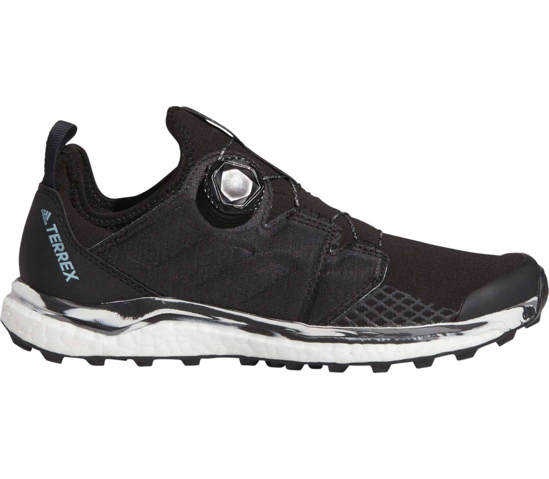 huge discount 4e2c1 a66b4 Agravic Boa women s trail running shoes (black)