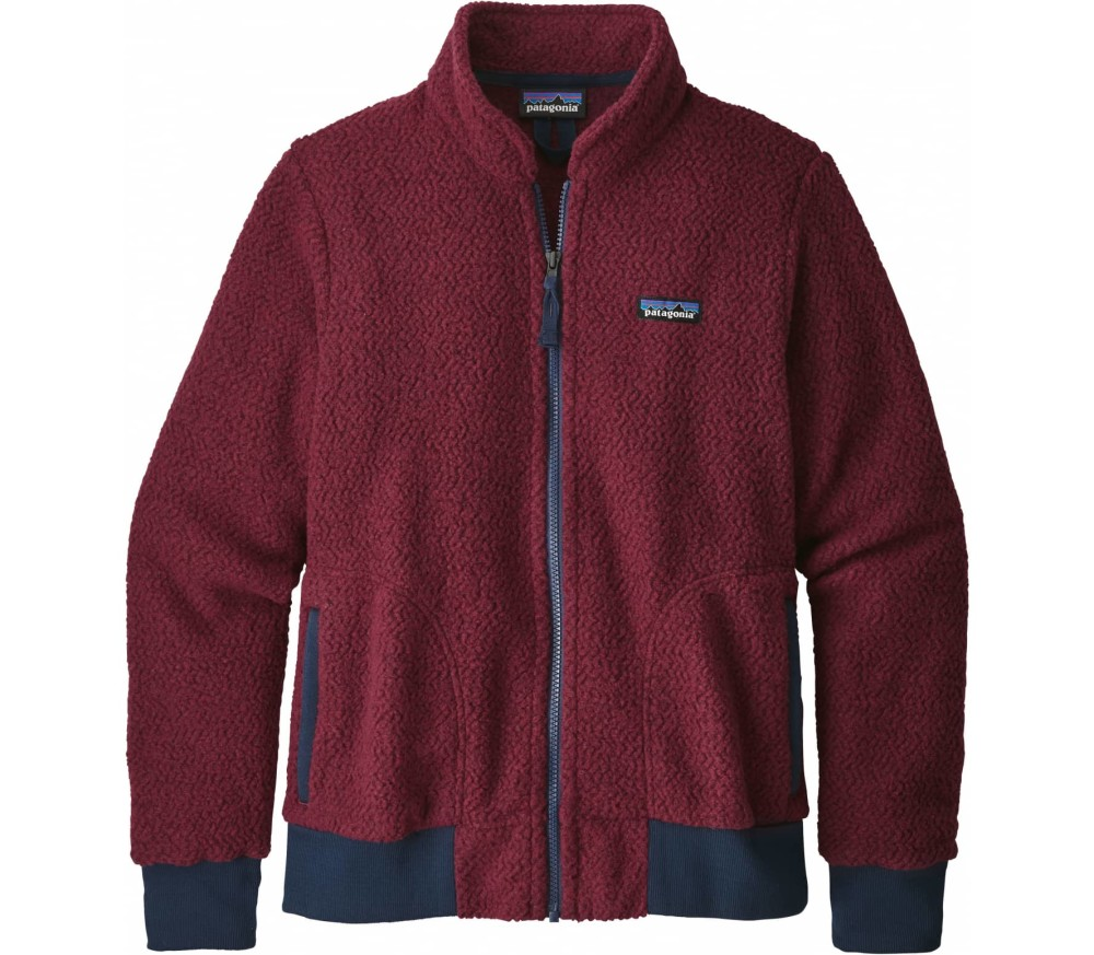 Patagonia - Woolyester women's fleece pullover (red)