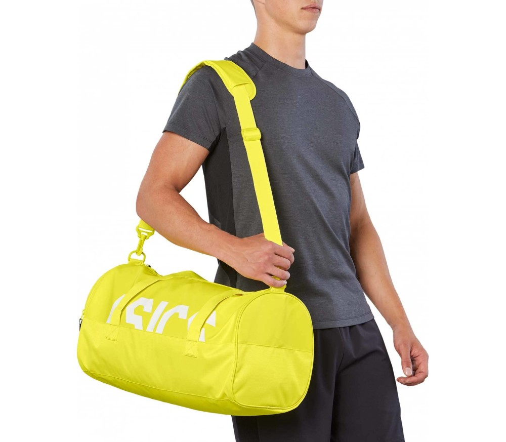 ASICS - TR Core Holdall M Trainingstasche (gelb)