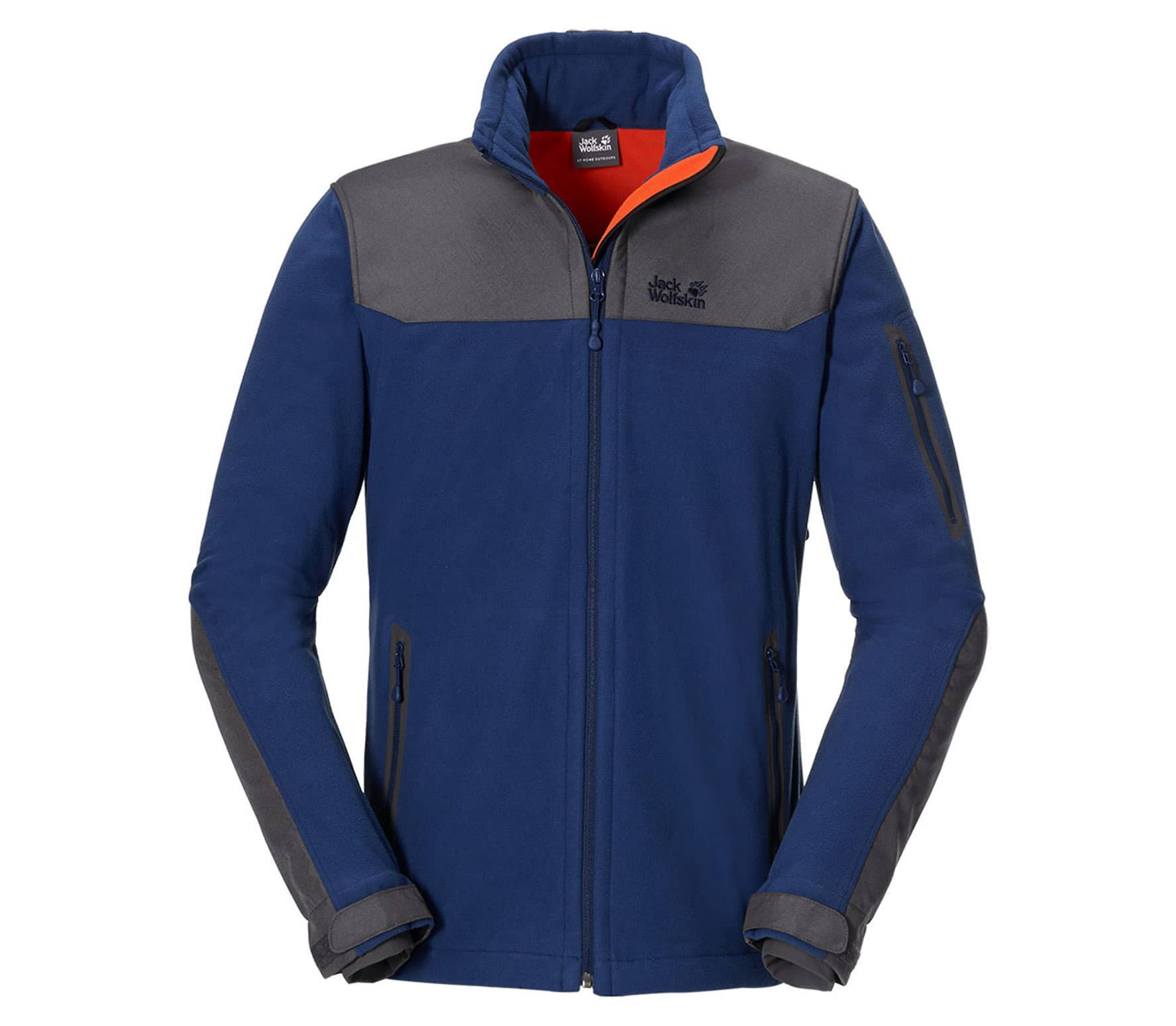 buy online 30186 a26bd Jack wolfskin Blizzard Uomo giacca in pile Men