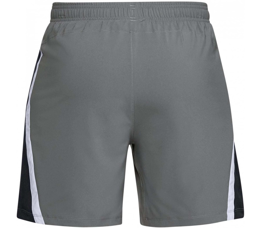 Under Armour Launch SW Hommes Short 2 in 1 gris
