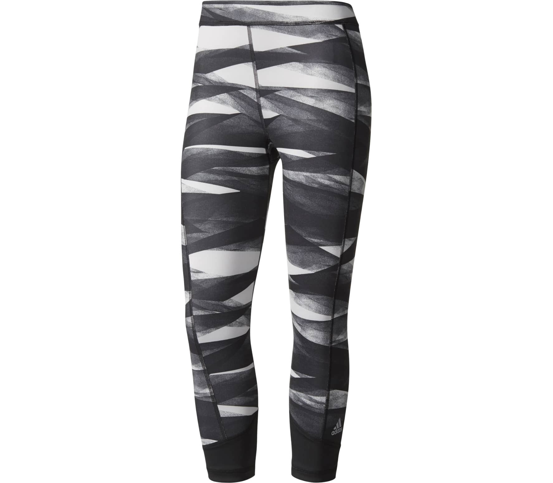 7c2a3d49c48d6 Adidas - Techfit capri pants Print women's training pants (grey ...