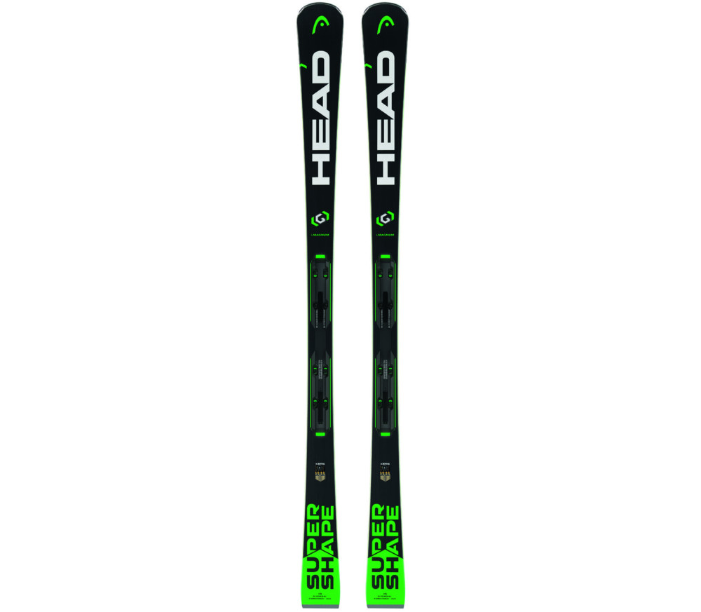 Head - Supershape i.Magnum SW incl. PRD 12 Brake 85 (F) ski with binding (black)
