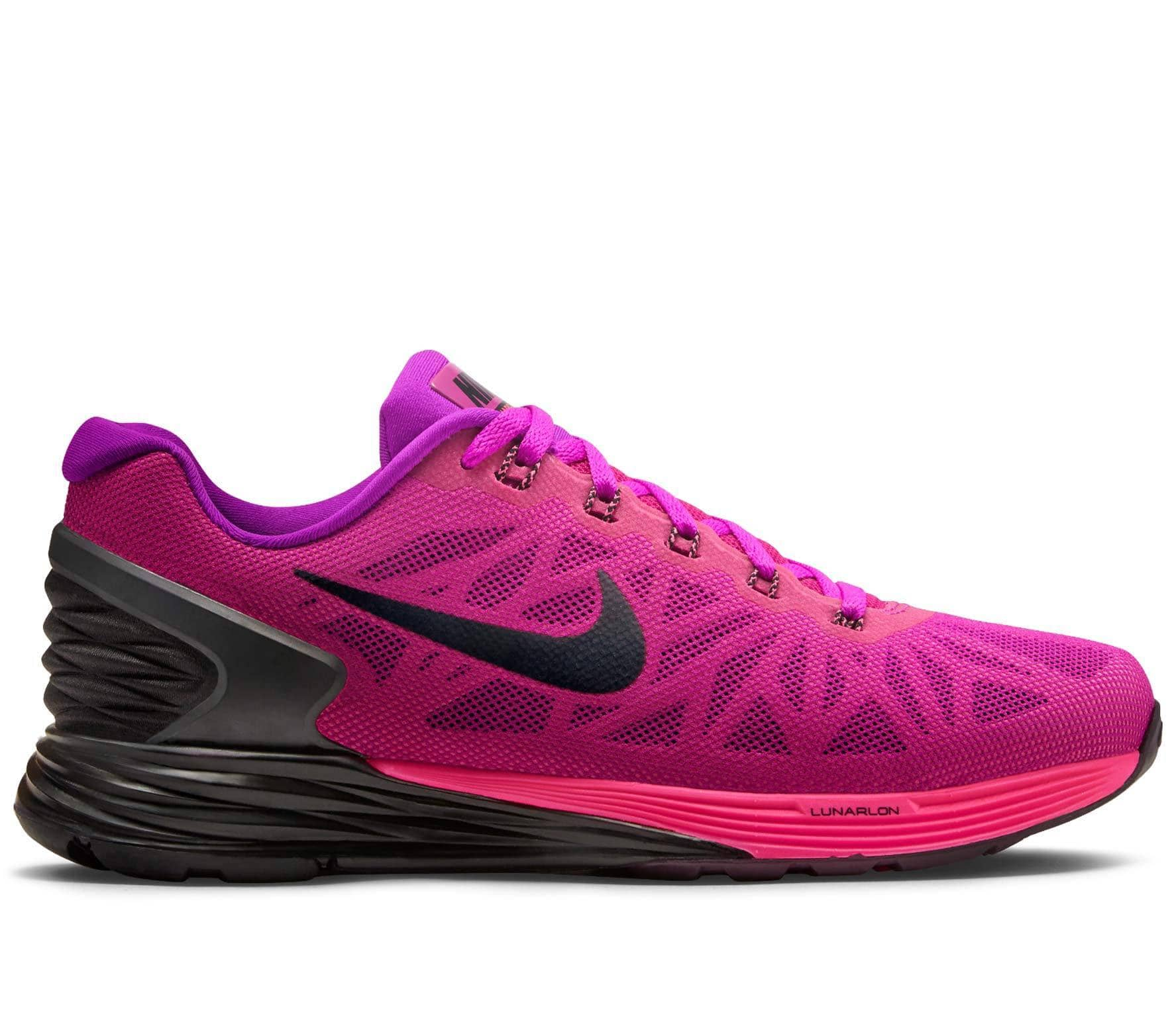 timeless design 6afc0 45809 Nike - Lunarglide 6 women s running shoes (purple pink)