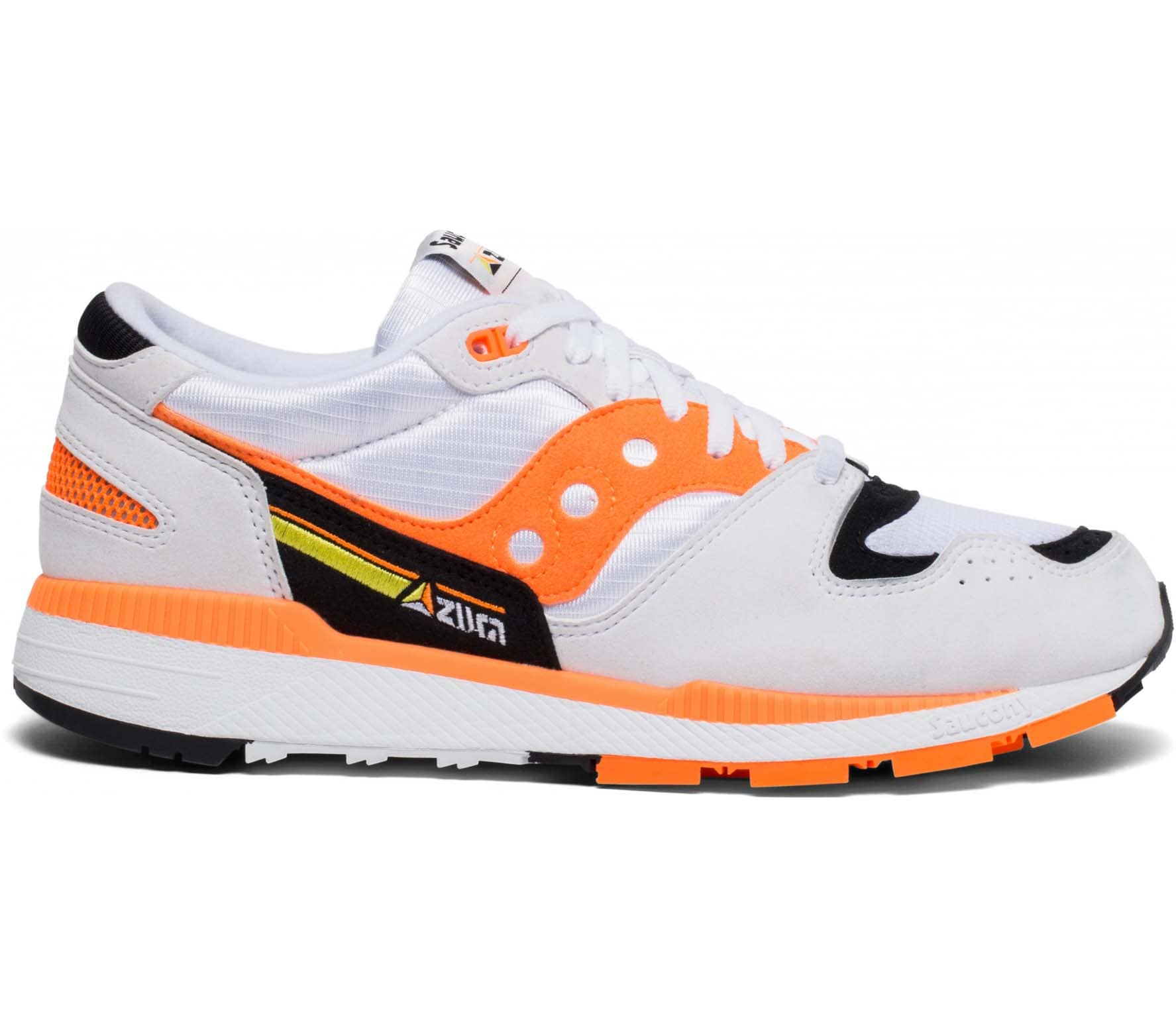 Azura Sneaker (weiß/orange)