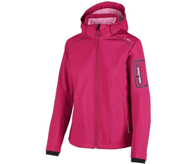 CMP Zip Hood Women Softshell Jacket - 1