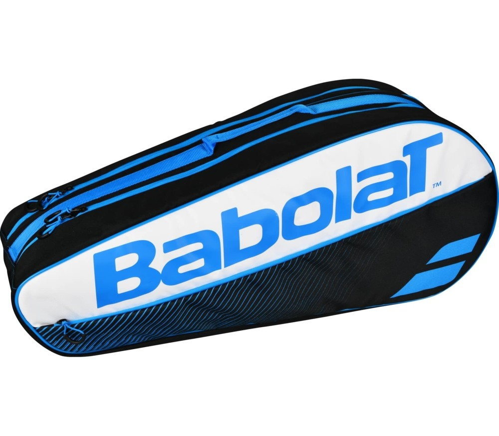 Babolat - Racket Holder X6 Classic tennis bag (blue/white)