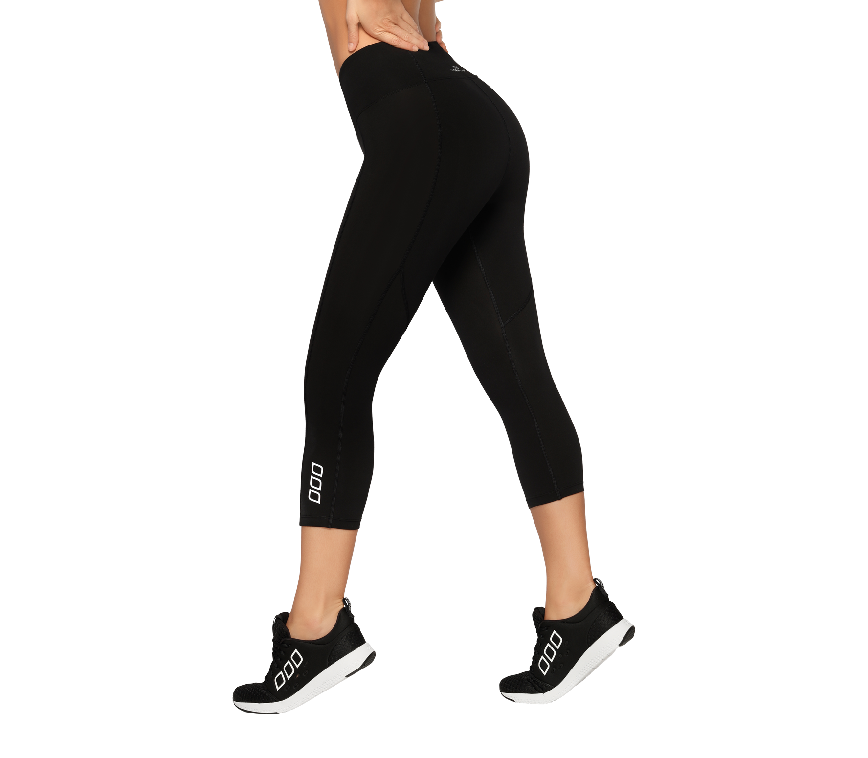 Lorna Jane - Booty Support 7/8 women's training pants (black)