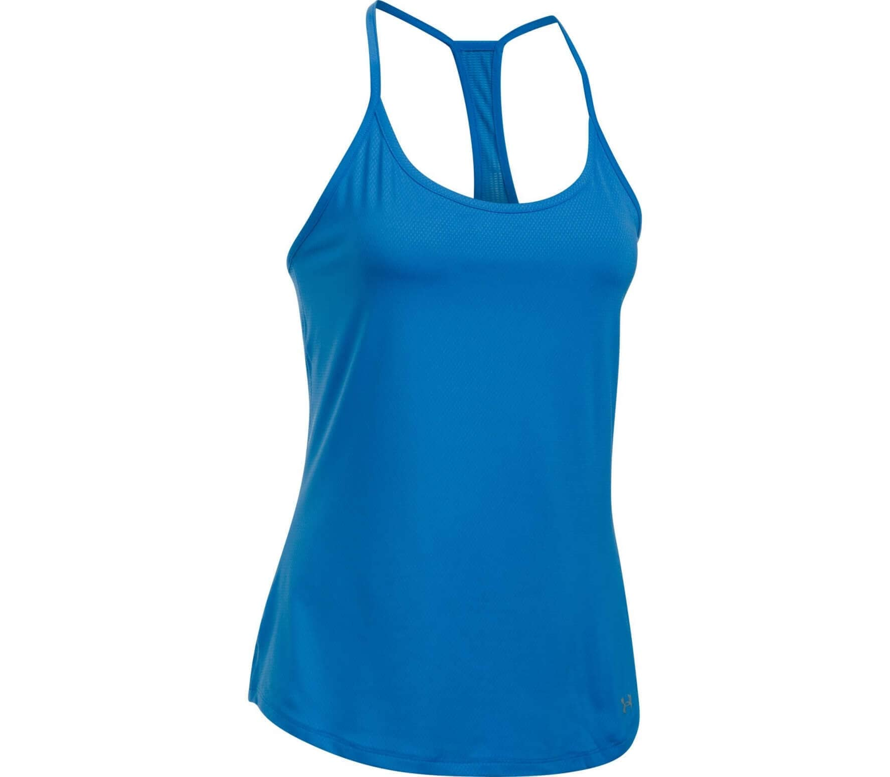 16eaf83131 Under Armour - Fly By Racerback women's running tank top top (blue)