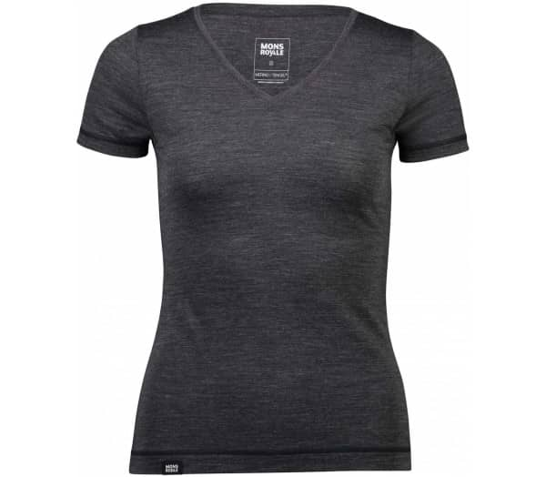MONS ROYALE No Ordinary V-Neck Women T-Shirt - 1