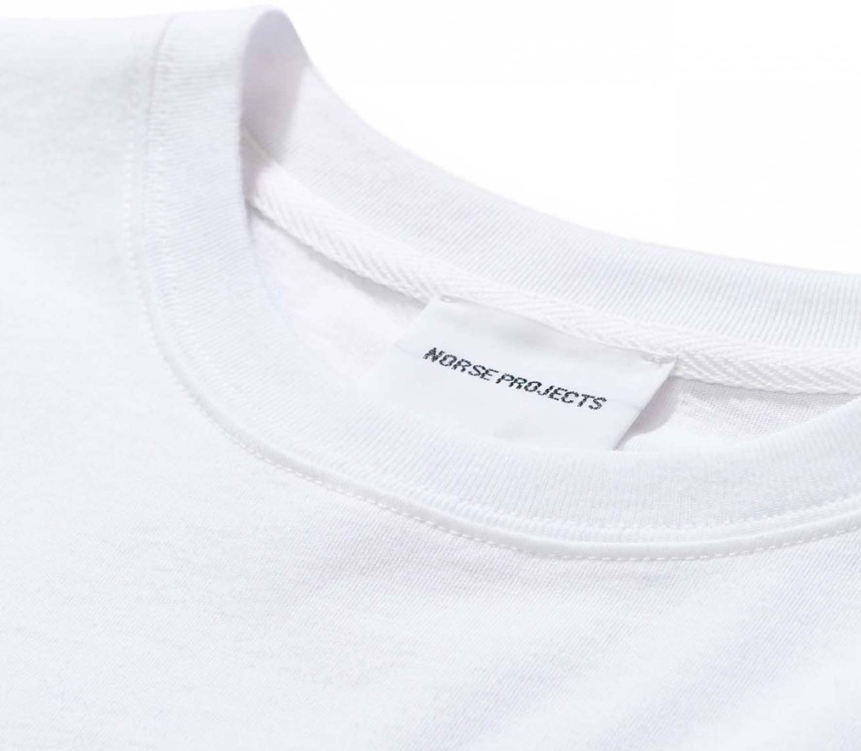 Norse Projects Niels Mountains Men T-Shirt white