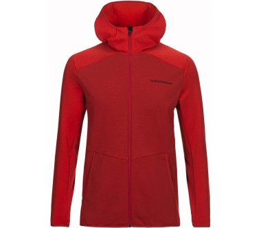 Peak Performance - Helo men's Powerstretch jacket (red)