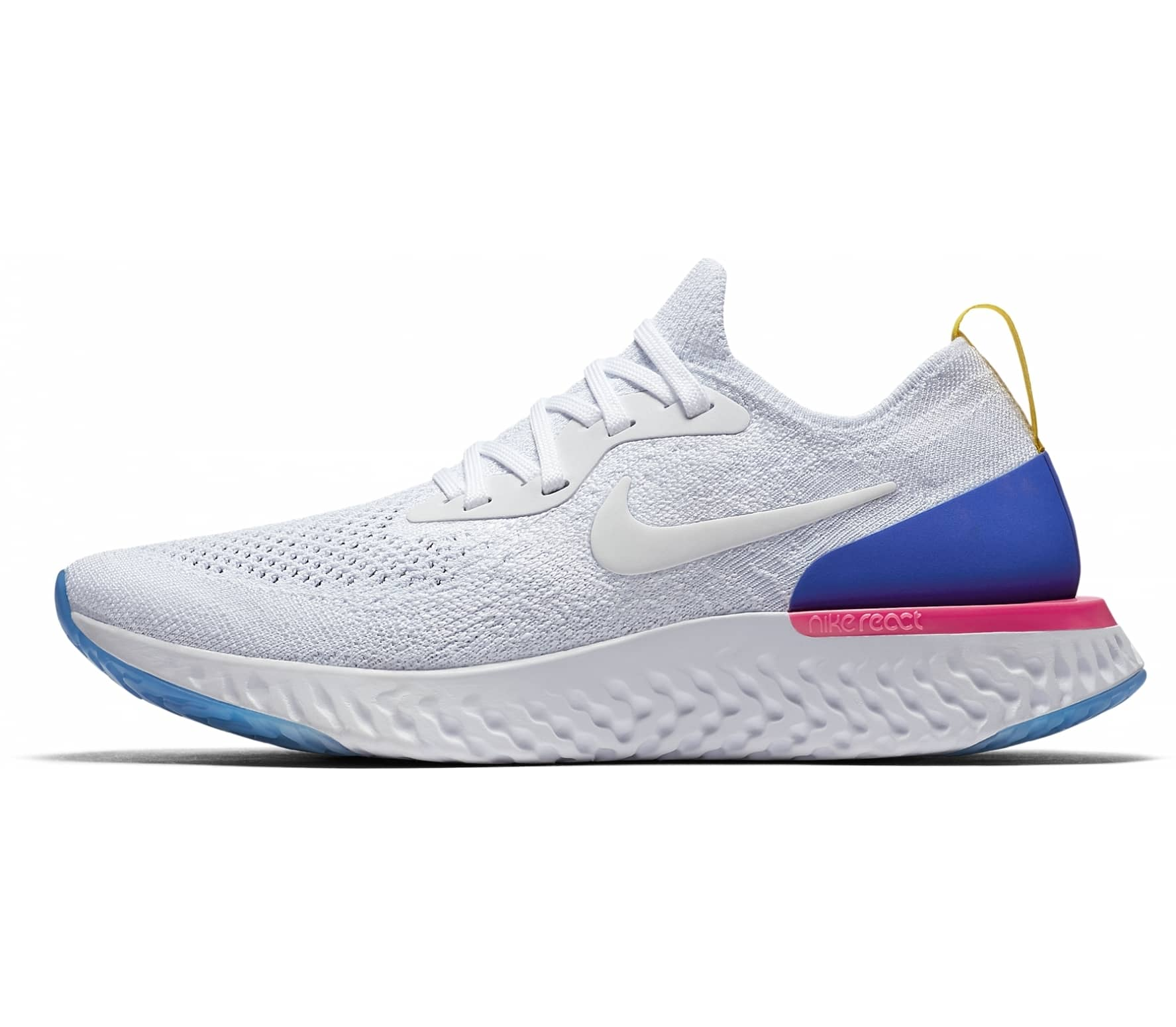 Nike - Epic React Flyknit women's running shoes (white)