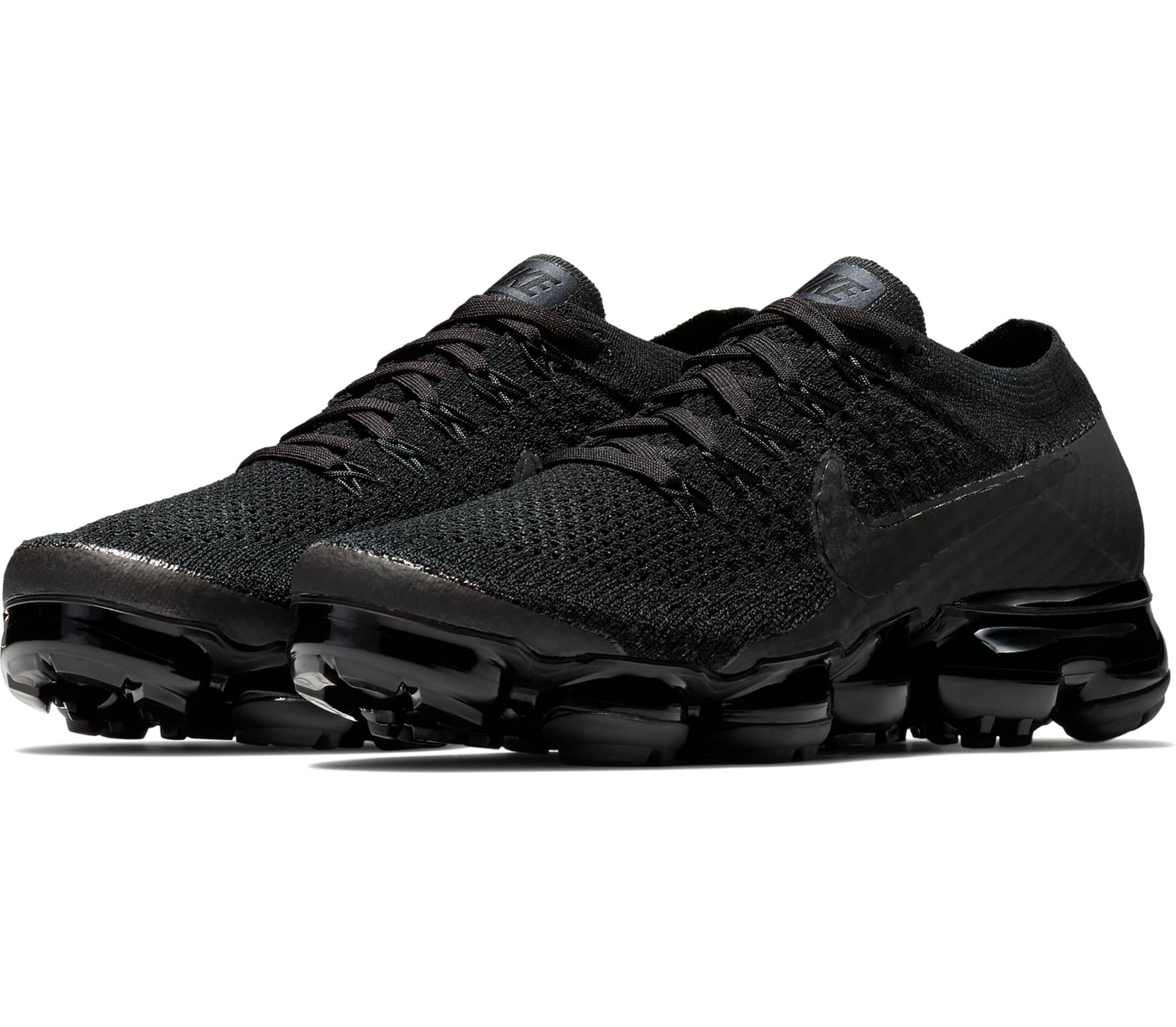 sports shoes c95fd 5df52 Nike - Air VaporMax Flyknit womens running shoes (black)