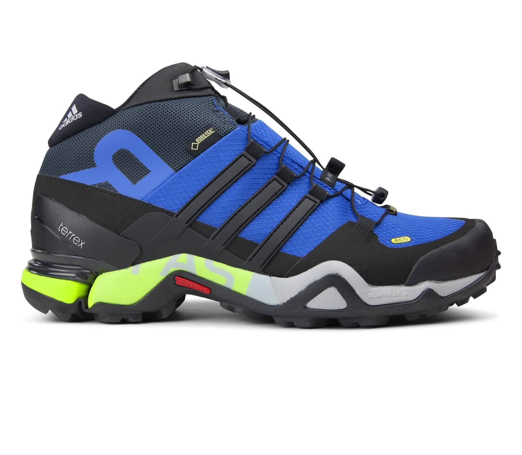 85f9a826e Adidas - Terrex Fast R Mid GTX men s multi-functional shoes (blue black