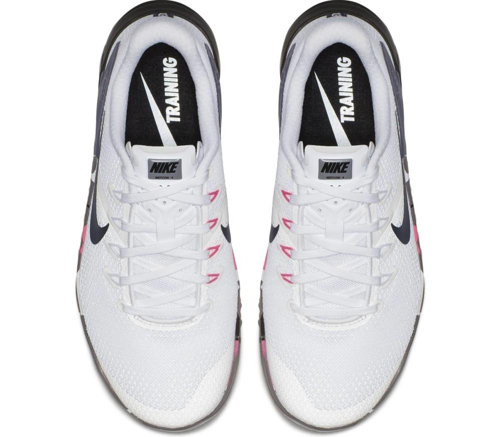 Nike - Metcon 4 zapatillas de entrenamiento para mujer (blanco)