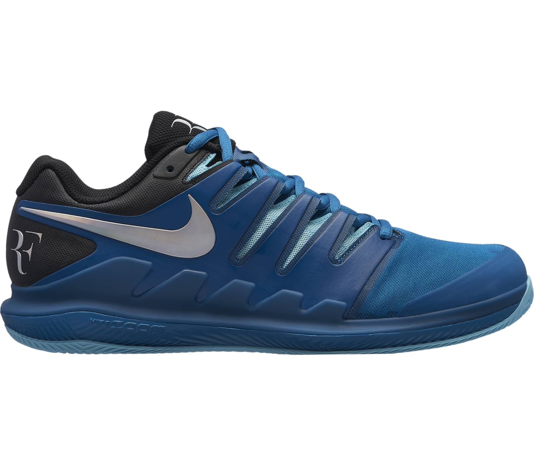 Nike Air Zoom Vapor X Clay (blu Uomo Scarpa da tennis (blu Clay scuro nero   0890da