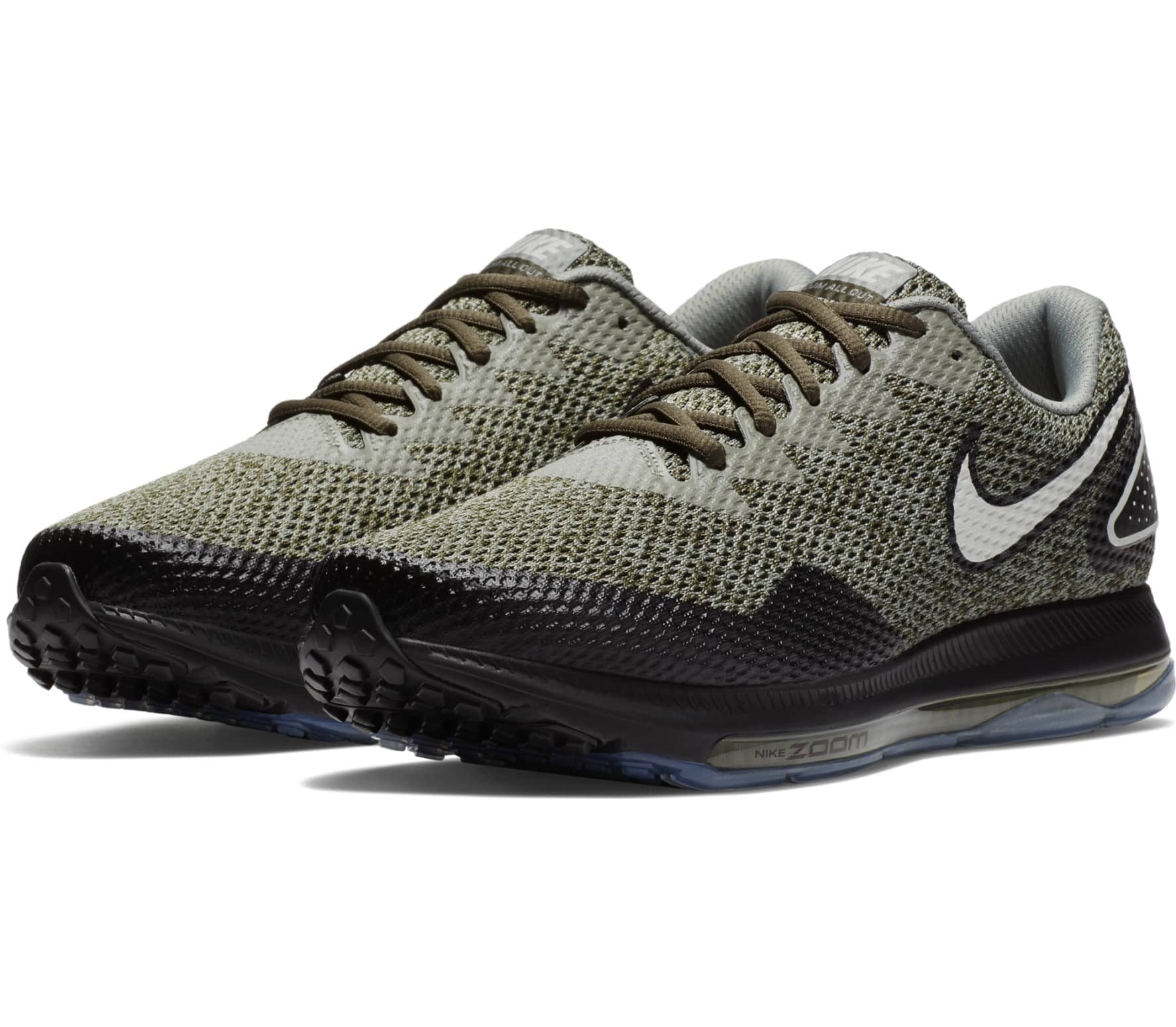 new styles 24733 cbed5 Nike - Zoom All Out Low 2 mens running shoes (brownblack)