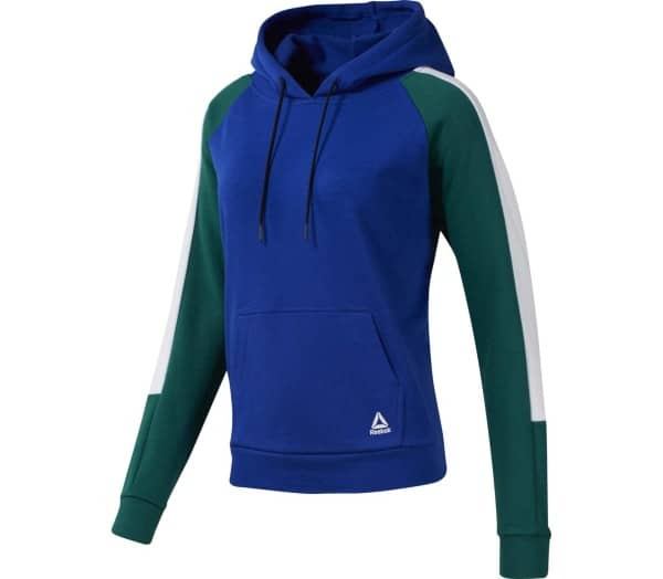 REEBOK WOR Colorblocked Co Women Sweatshirt - 1