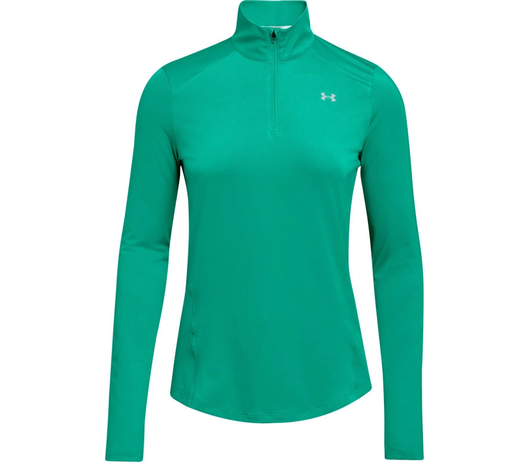 Under Armour Speed Stride 14 Zip Long Sleeved Womens Running Top