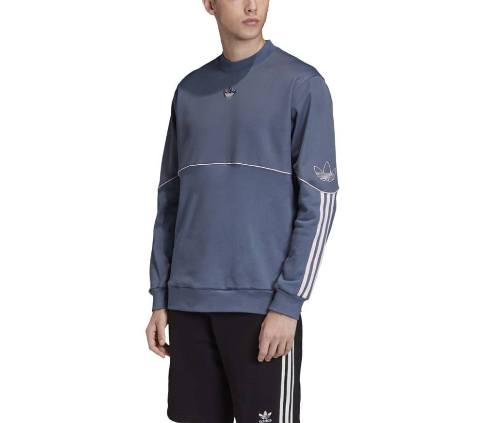 Outline Crewneck Football Hommes Sweat