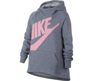 Nike - Sportswear Junior Trainingshoodie (grau/pink)