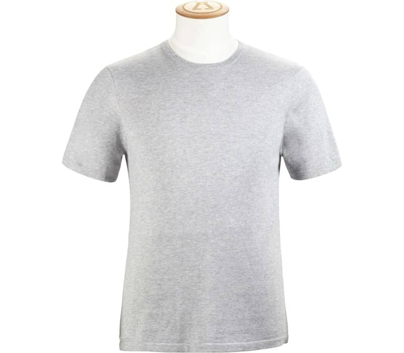 14 Gauge Cotton Silk Men T-Shirt
