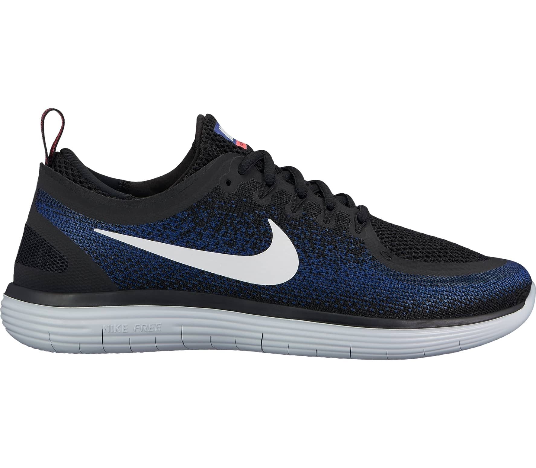 9a46a886b5a9 Nike - Free RN Distance 2 men s running shoes (black dark blue ...